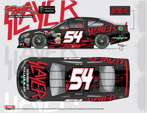 slayer, rick ware racing, nascar