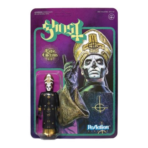 super7, ghost, papa emeritus iii, super7 action figures