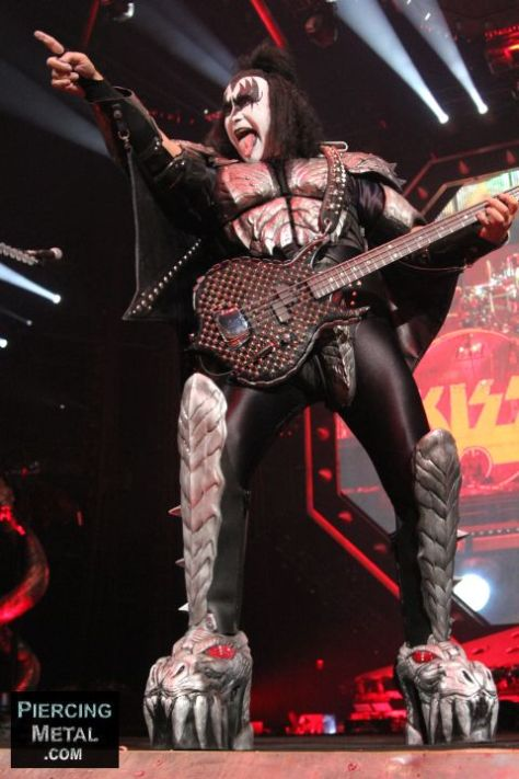 kiss, gene simmons, photos of kiss, photos of gene simmons