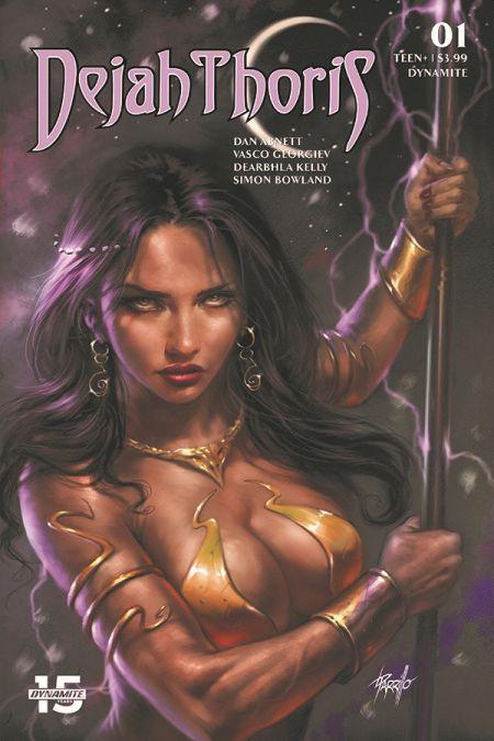 comic book covers, dynamite entertainment, deja thoris