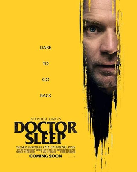 movie posters, promotional posters, warner brothers pictures, doctor sleep, stephen king