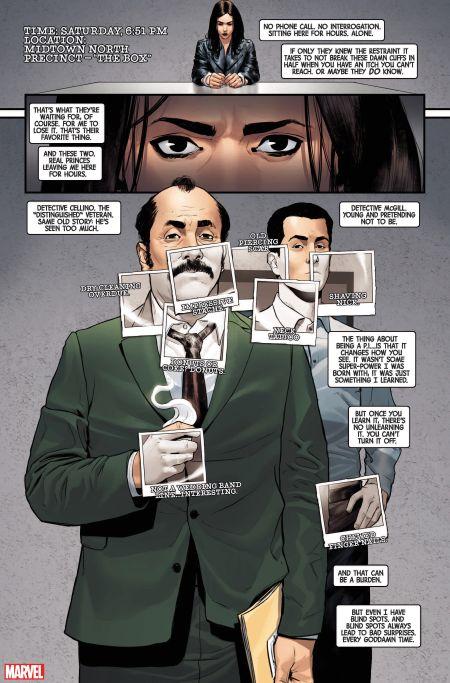 comic book pages, marvel comics, marvel entertainment, jessica jones