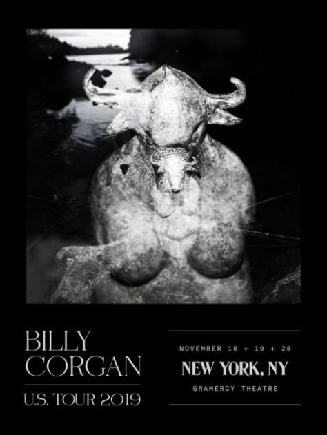 show posters, gramercy theatre, billy corgan, billy corgan show posters