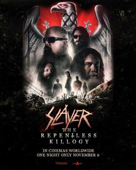 movie posters, promotional posters, slayer, nuclear blast records artists