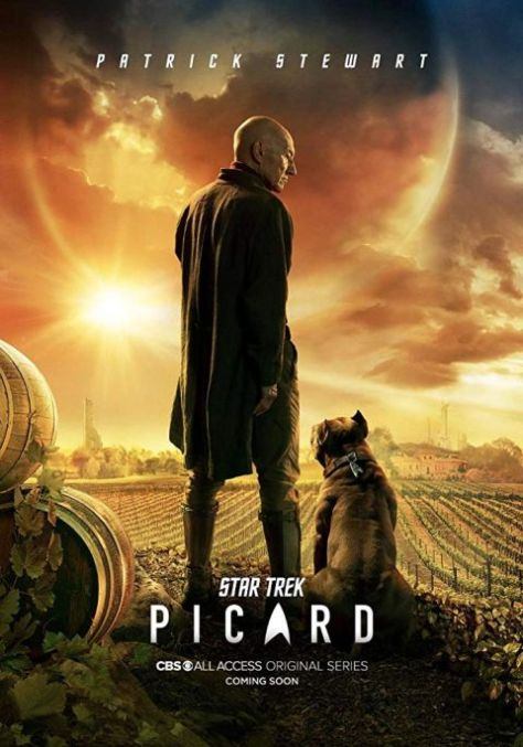 television posters, promotional posters, cbs all access, star trek picard
