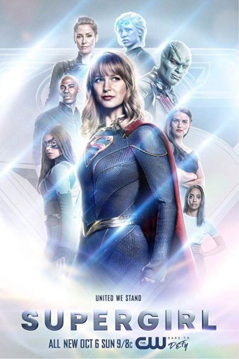 television posters, promotional posters, warner brothers television, the cw network, supergirl