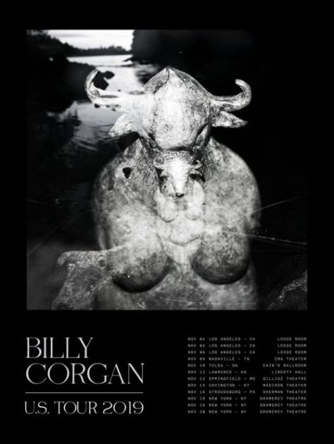 tour posters, billy corgan, billy corgan tour posters