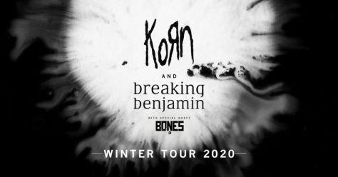 tour posters, korn, breaking benjamin, korn tour posters, breaking benjamin tour posters