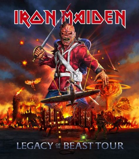 tour posters, iron maiden, iron maiden tour posters, legacy of the beast world tour