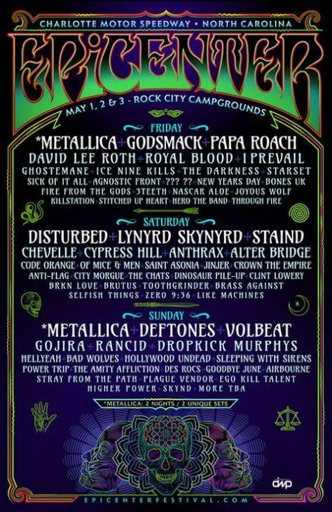 festival posters, music festivals, epicenter festival