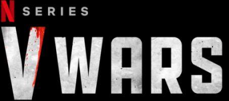 v wars television logo