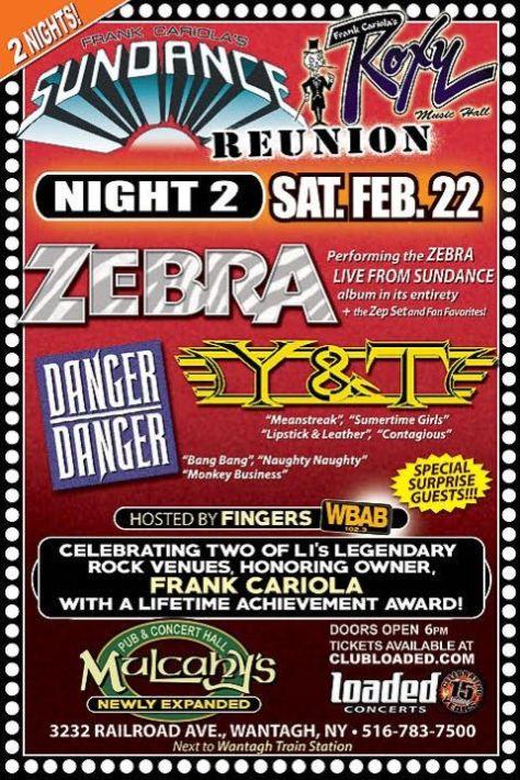 show posters, sundance and roxy music hall reunions