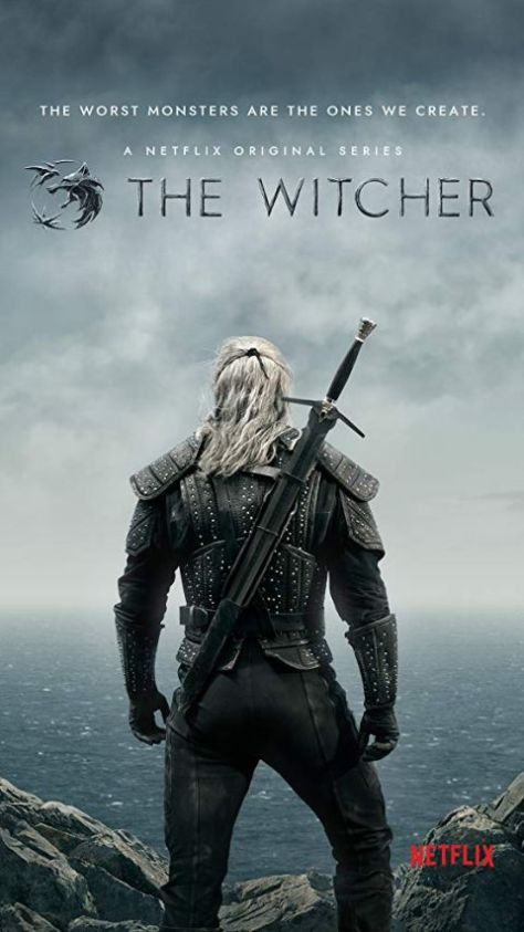 television posters, promotional posters, netflix original, the witcher