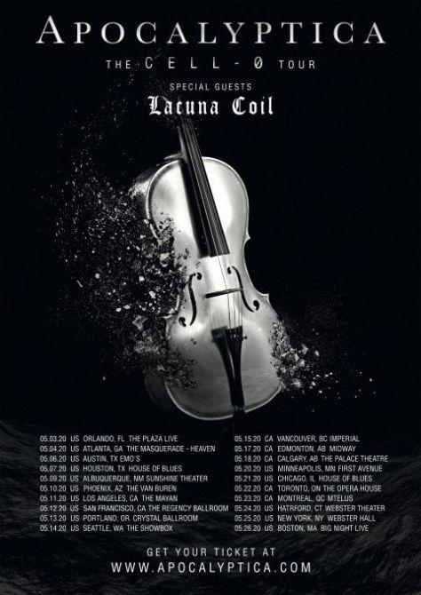 tour posters, apocalyptica, apocalyptica tour posters