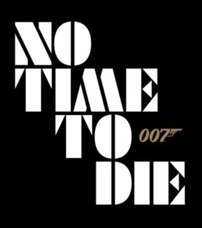 no time to die movie logo