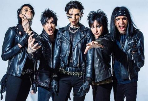black veil brides group shot