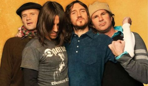red hot chili peppers band photo