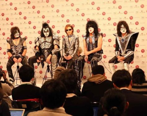 yoshiki, kiss, resonance media photos