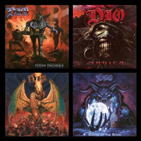 album covers, dio, ronnie james dio, dio albums, ronnie james dio albums