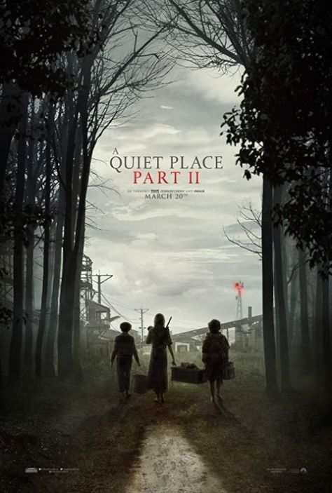 movie posters, promotional posters, paramount pictures, a quiet place part ii