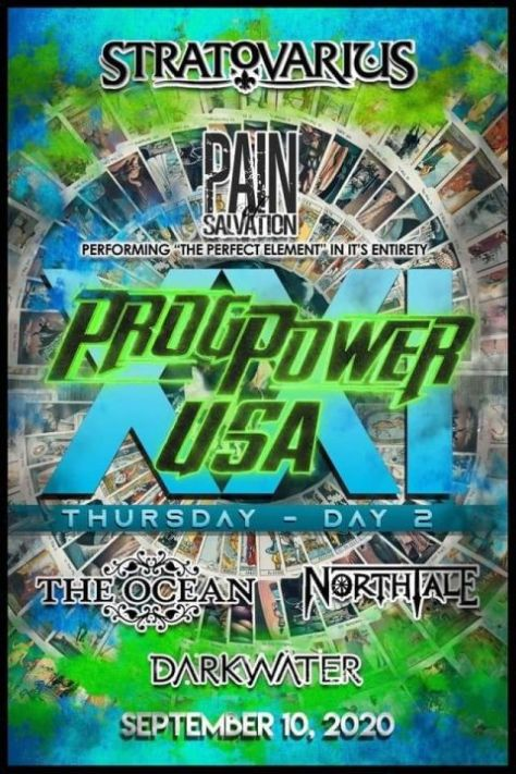 festival posters, progpower usa posters