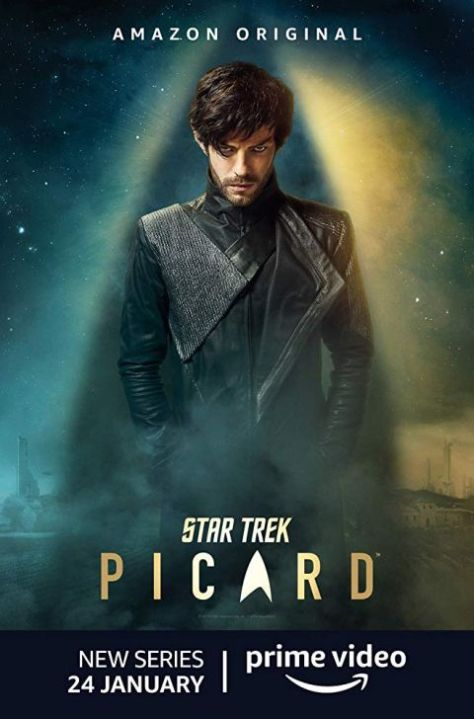 television posters, promotional posters, cbs all access, star trek: picard, star trek: picard posters