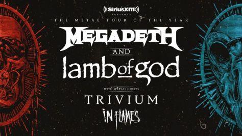tour posters, megadeth, lamb of god, megadeth tour posters, lamb of god tour posters