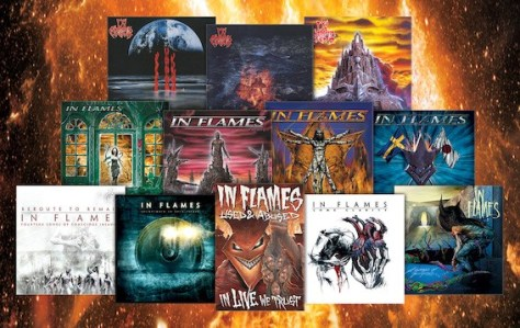 album covers, nuclear blast records, in flames, in flames album covers