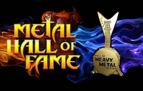 metal hall of fame banner