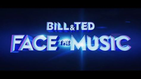 bill and ted face the music movie logo, united artists releasing