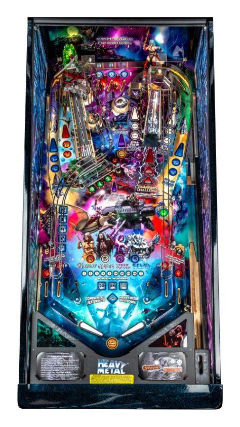 stern pinball, incendium, heavy metal pinball machine