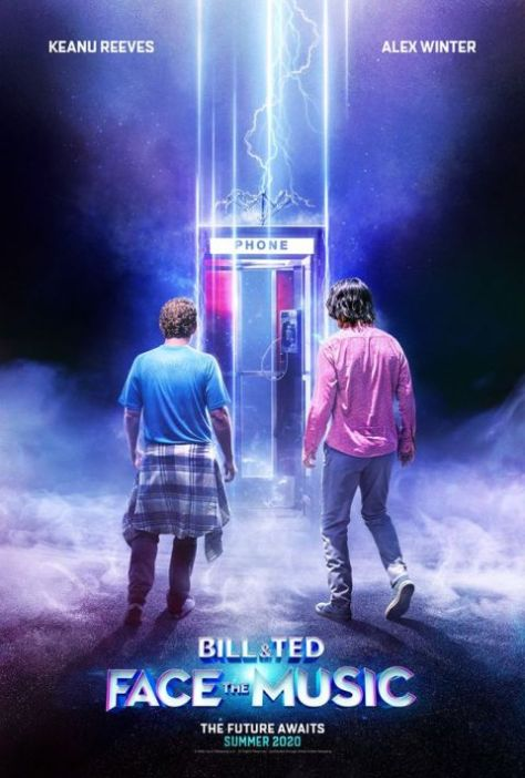 movie posters, promotional posters, united artists releasings, bill and ted - face the music, bill and ted - face the music posters
