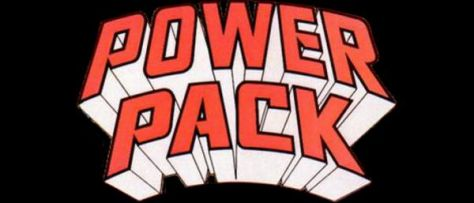 power pack comics logo, marvel comics, marvel entertainment