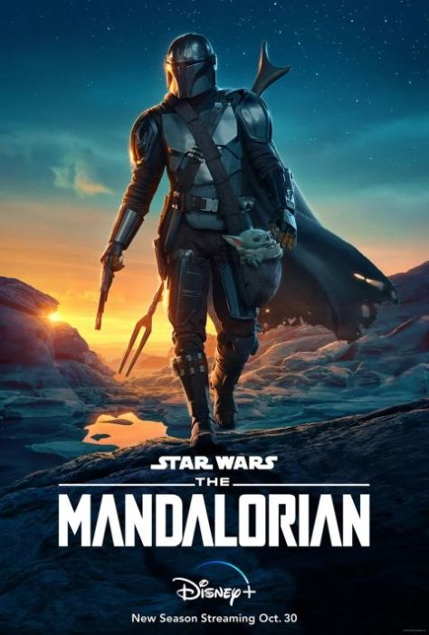 television posters, promotional posters, lucasfilm, star wars, the mandalorian, the mandalorian posters