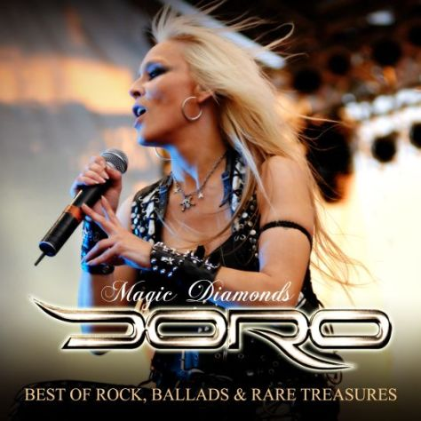 album covers, doro pesch, doro pesch albums, rare diamonds productions