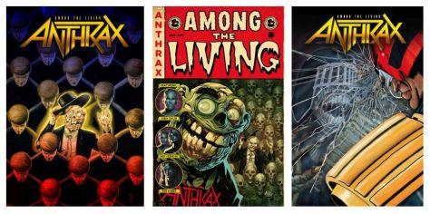 z2 comics, anthrax, among the living graphic novel