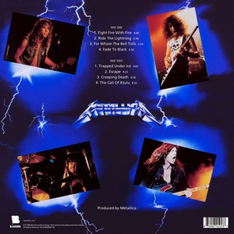 album covers, metallica, metallica album covers, blackened recordings, metallica colored vinyl