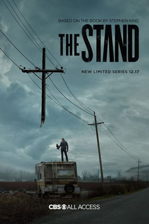 television posters, promotional posters, cbs television studios, the stand