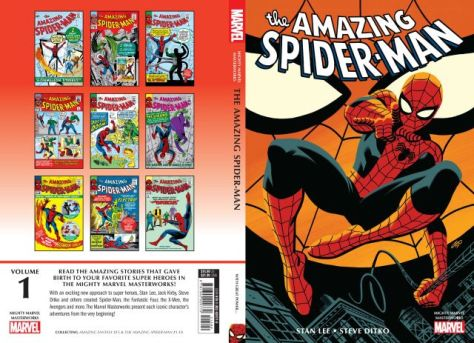 book covers, marvel comics, marvel entertainment, mighty marvel masterworks