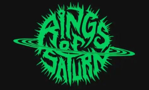band logos, rings of saturn, rings of saturn band logo