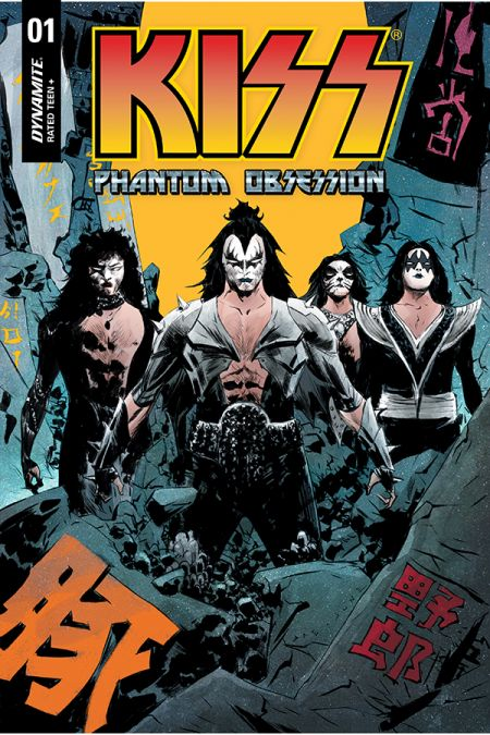 comic book covers, dynamite entertainment, kiss, kiss comics