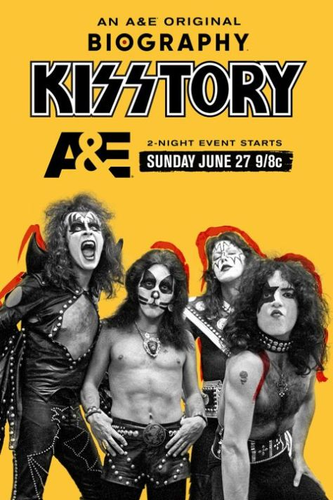 television posters, promotional posters, kiss, a and t tv