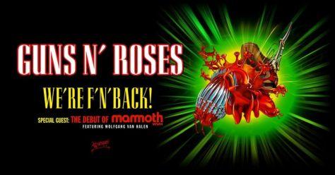 tour posters, guns n roses, guns n roses tour posters