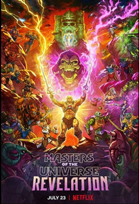 television posters, promotional posters, netflix, netflix originals, masters of the universe - revelation, masters of the universe posters