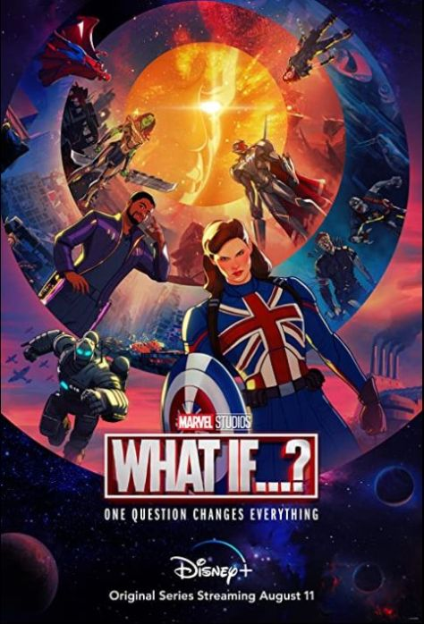 television posters, promotional posters, marvel studios, disney plus, what if, what if posters