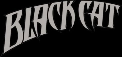comic book logos, black cat comics logo,marvel comics,marvel entertainment, marvel comics logos