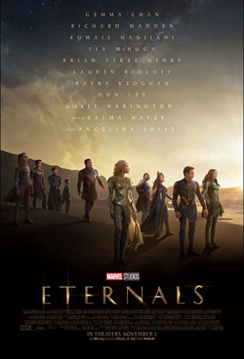 movie posters, promotional posters, marvel studios, eternals, eternals movie posters