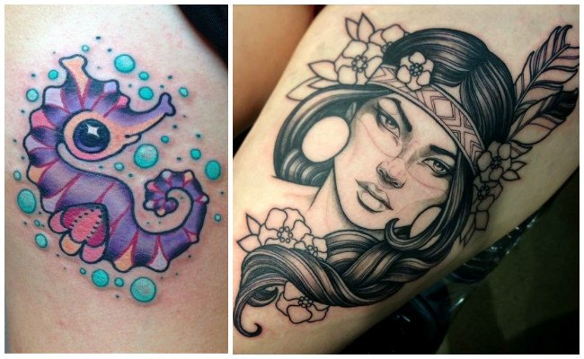 Tatuajes New School Estilo Y Diseños De Los Tatuajes Modernos