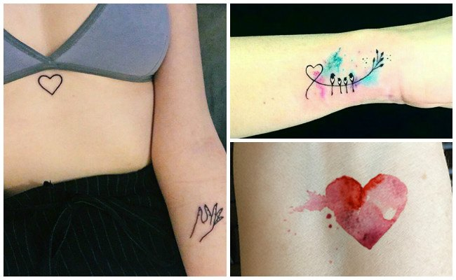 Tatuajes De 3 Corazones En La Muneca