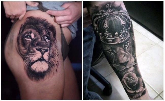 Tatuajes De Leones Imágenes Y Signficados Hombres Y Mujeres
